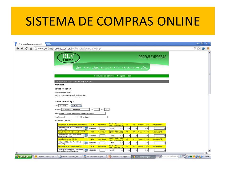 SISTEMA DE COMPRAS ONLINE
