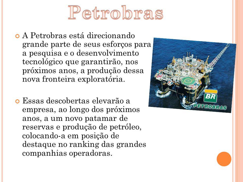 Petrobras atando no pré-sal.