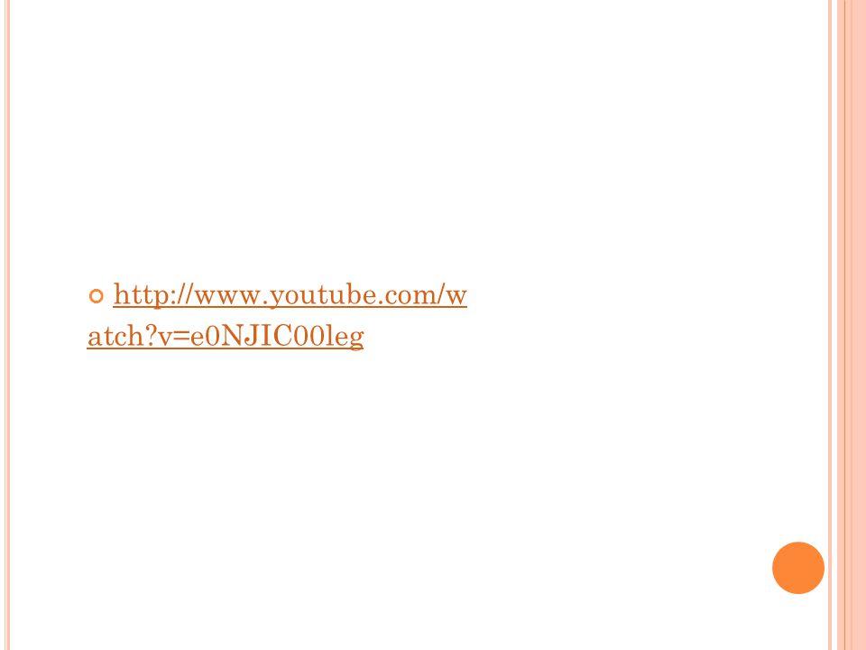 http://www.youtube.com/w atch v=e0NJIC00leg