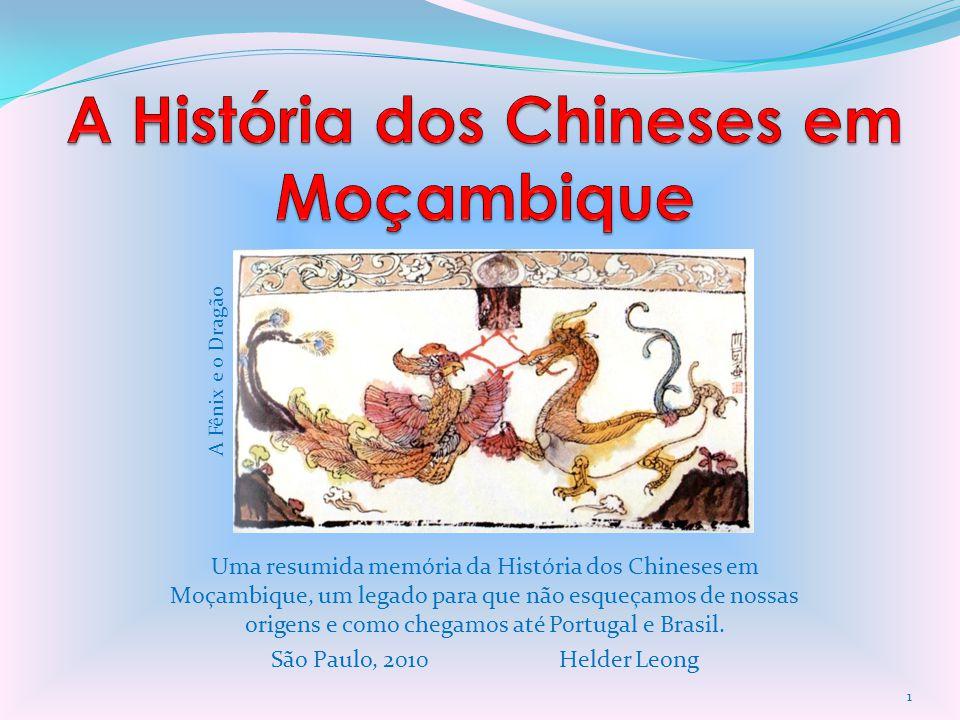 A História dos Chineses em Moçambique