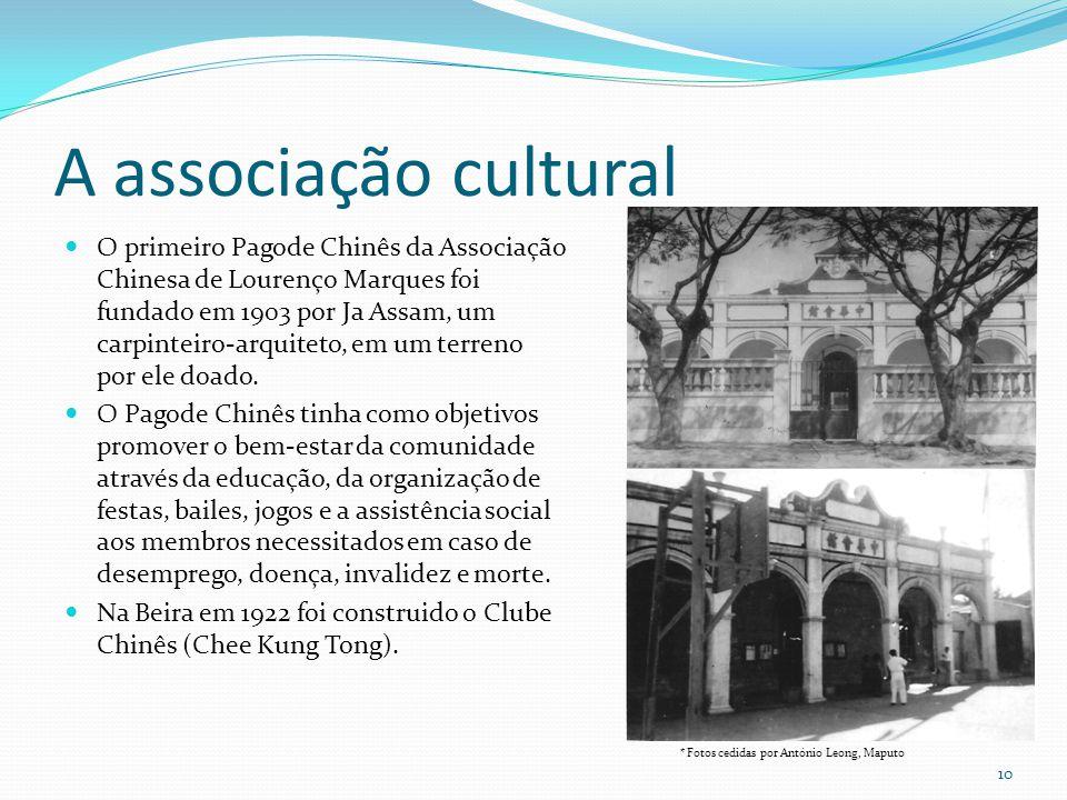 A associação cultural