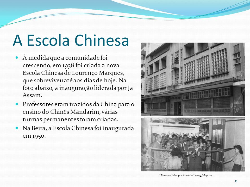 A Escola Chinesa