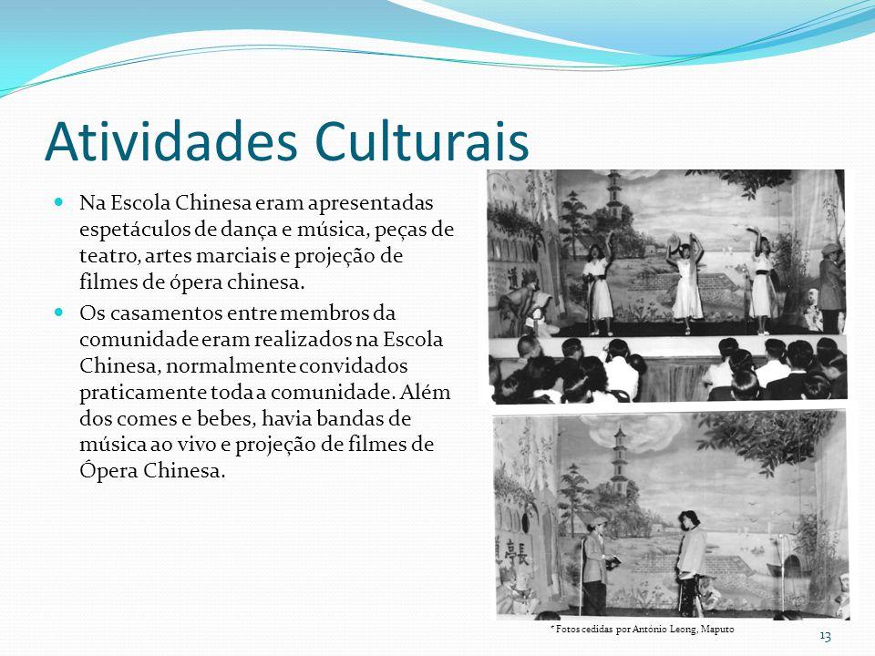 Atividades Culturais