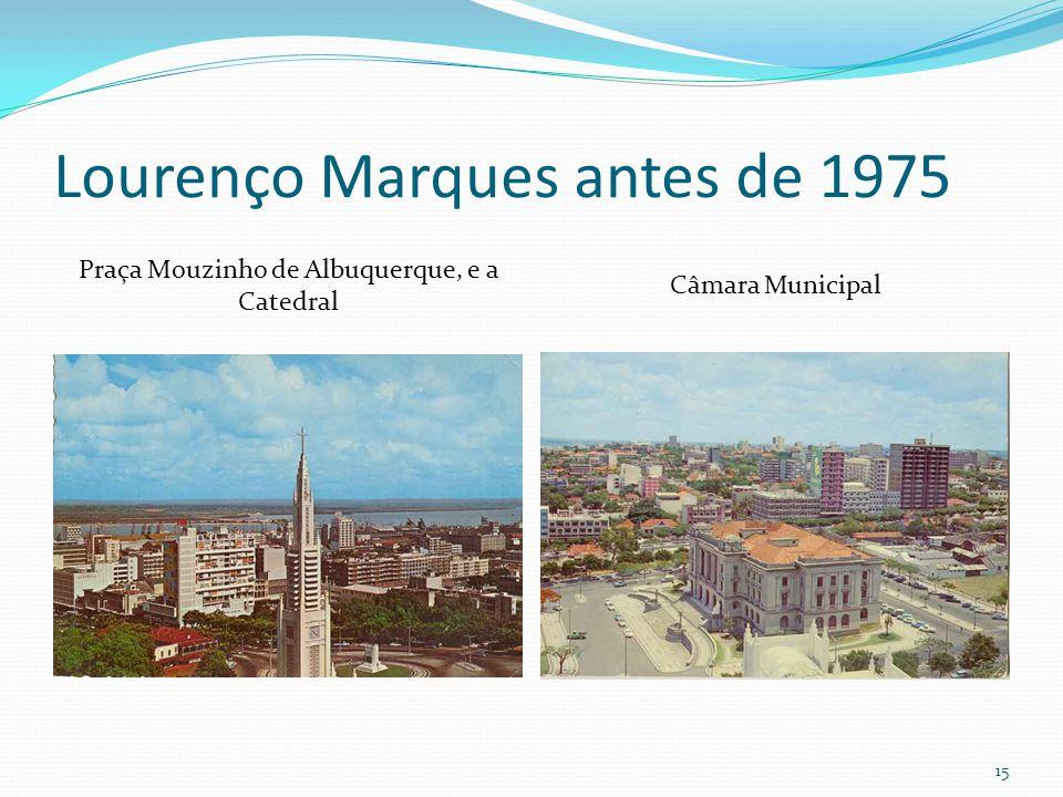 Lourenço Marques antes de 1975