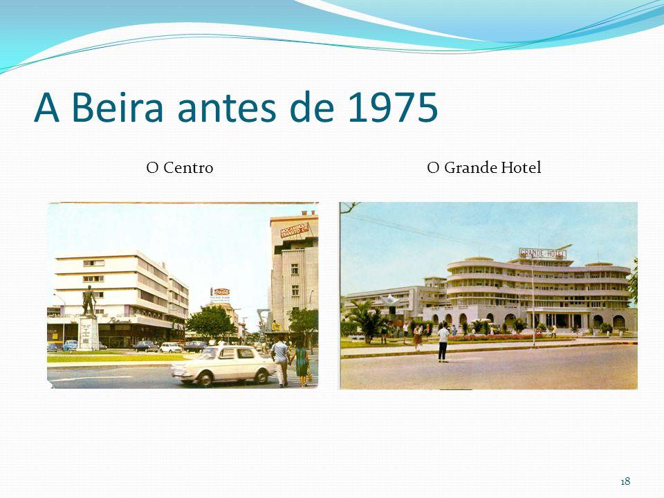 A Beira antes de 1975 O Centro O Grande Hotel