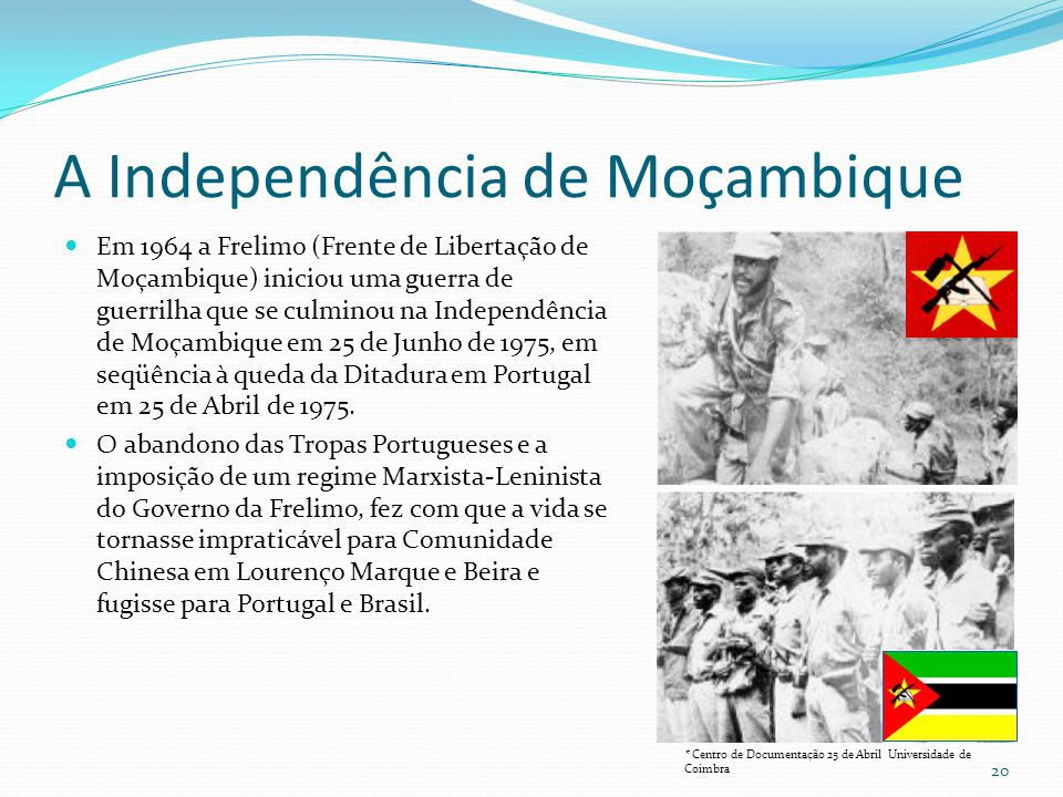 A Independência de Moçambique