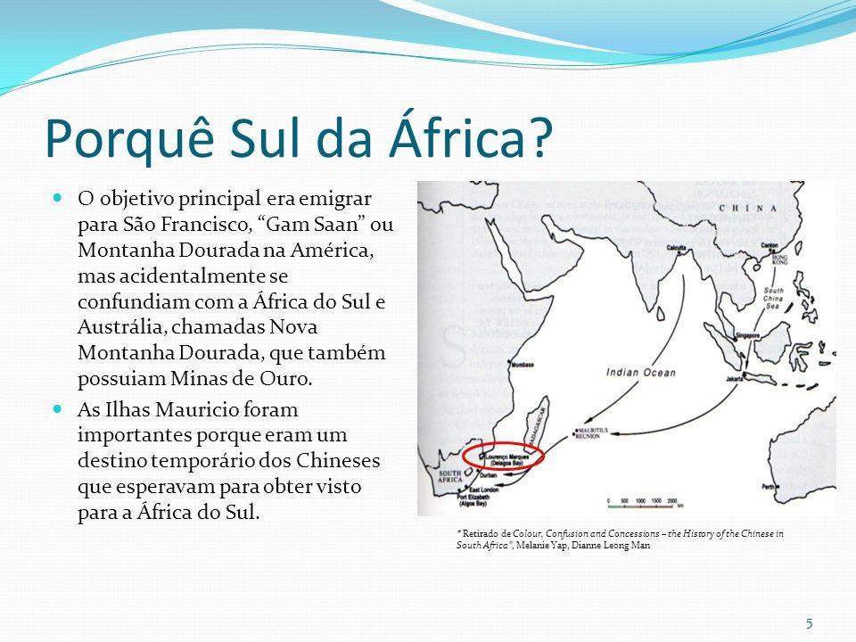 Porquê Sul da África