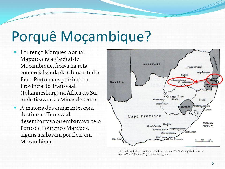 Porquê Moçambique