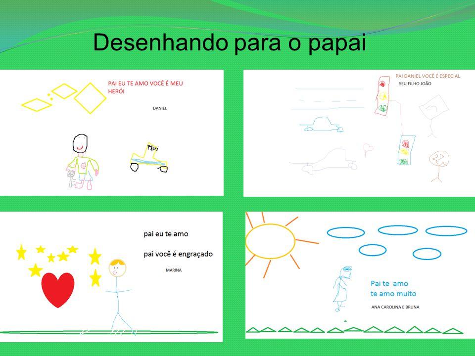 Desenhando para o papai
