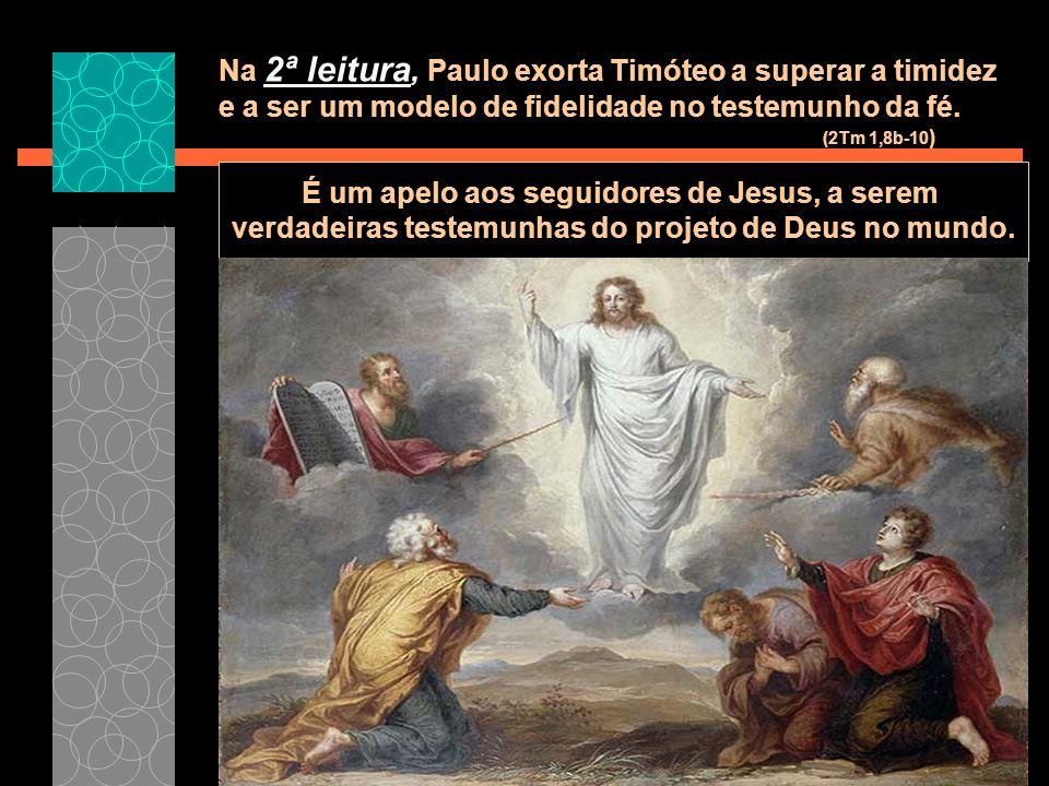 É um apelo aos seguidores de Jesus, a serem