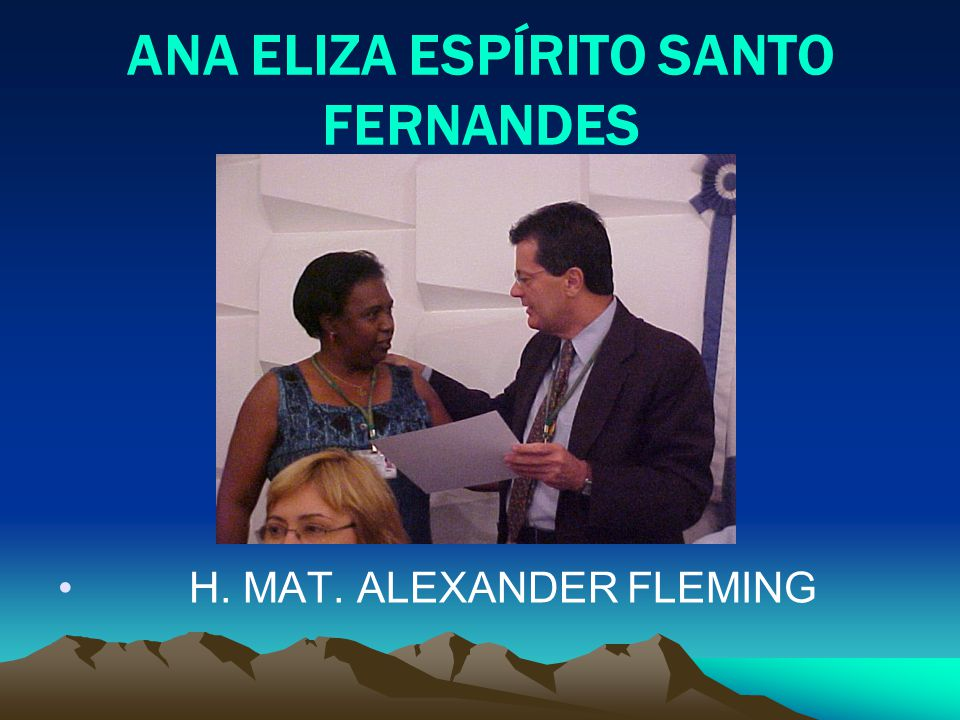 ANA ELIZA ESPÍRITO SANTO FERNANDES