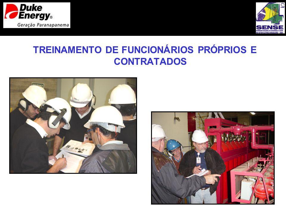 TREINAMENTO DE FUNCIONÁRIOS PRÓPRIOS E CONTRATADOS