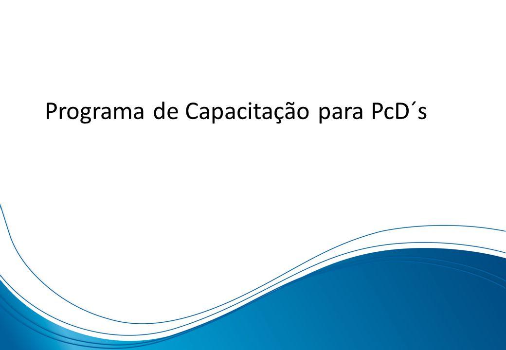 Programa de Capacitação para PcD´s
