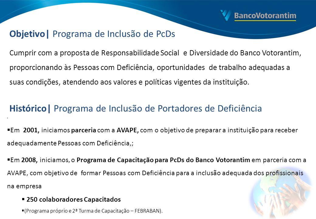 Objetivo| Programa de Inclusão de PcDs