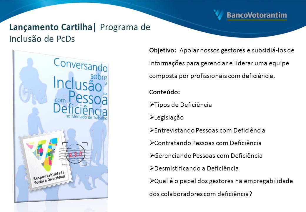 Lançamento Cartilha| Programa de Inclusão de PcDs