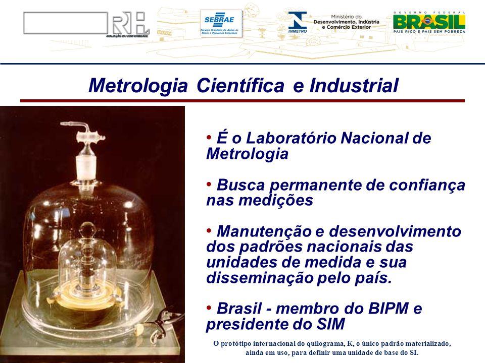 Metrologia Científica e Industrial
