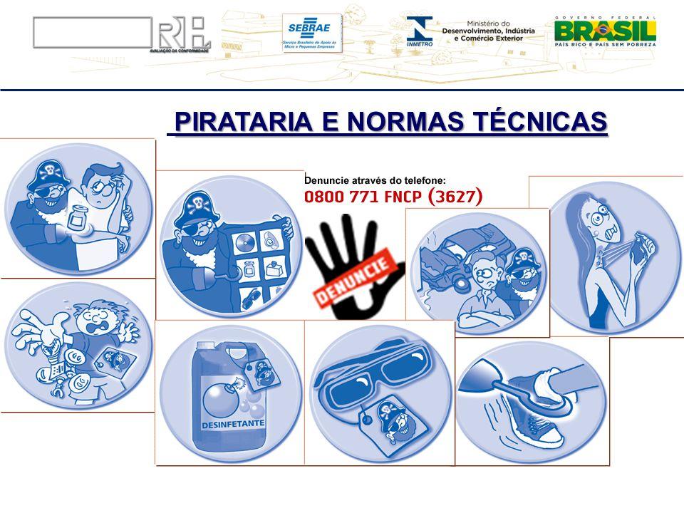 PIRATARIA E NORMAS TÉCNICAS