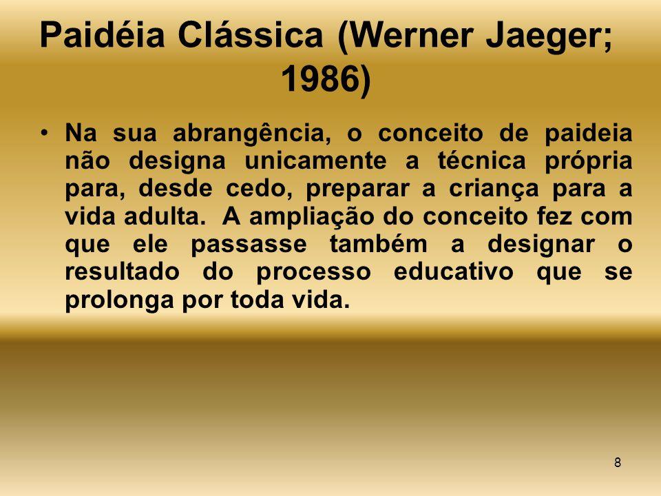 Paidéia Clássica (Werner Jaeger; 1986)