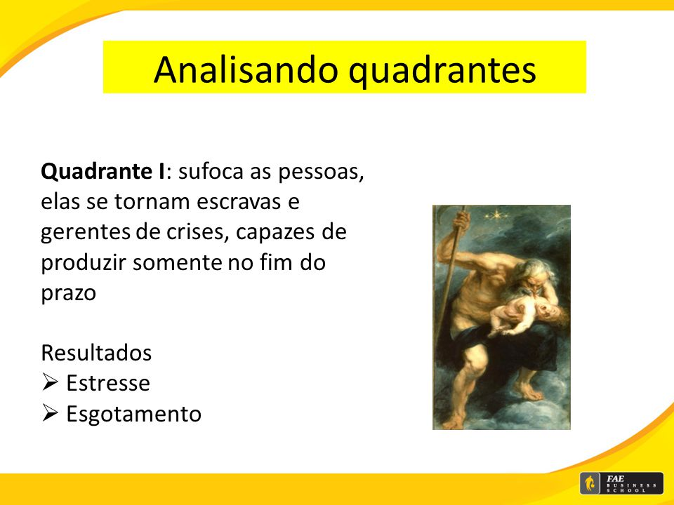 Analisando quadrantes