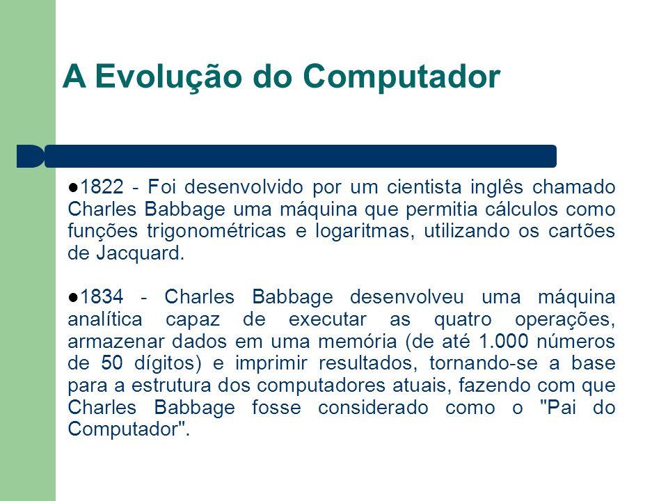 A Evolução do Computador