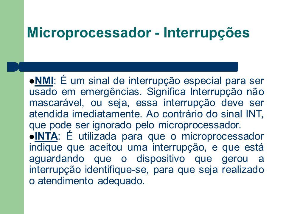 Microprocessador - Interrupções
