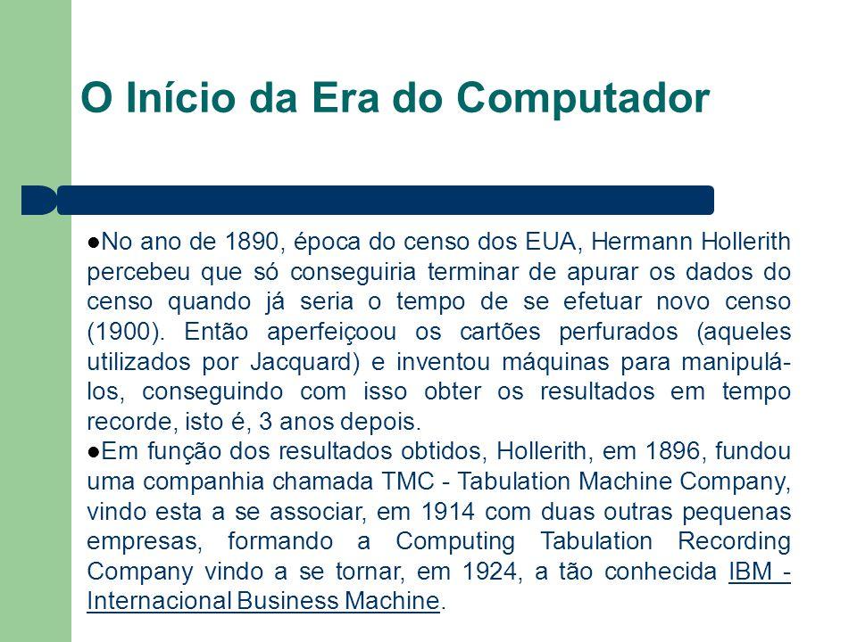 O Início da Era do Computador