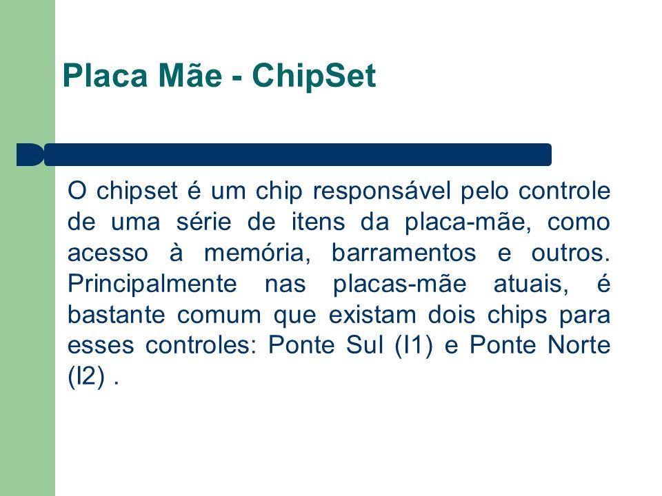 7272 Placa Mãe - ChipSet.