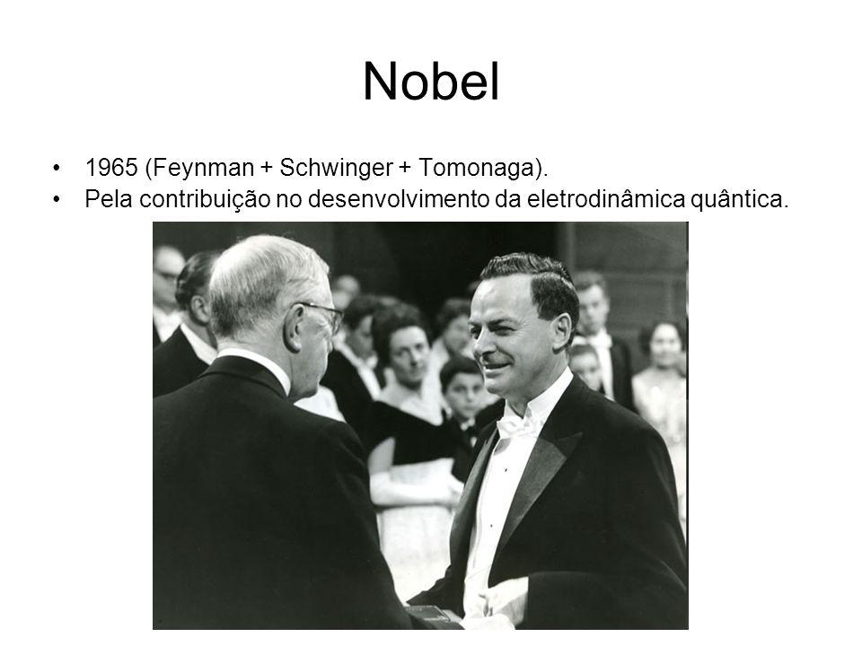 Nobel 1965 (Feynman + Schwinger + Tomonaga).