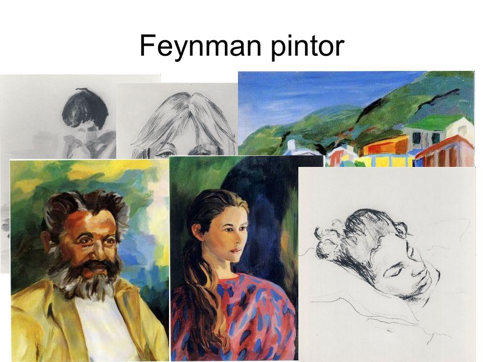 Feynman pintor