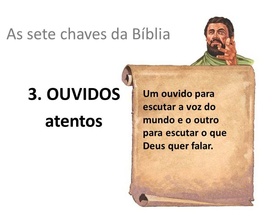 As sete chaves da Bíblia