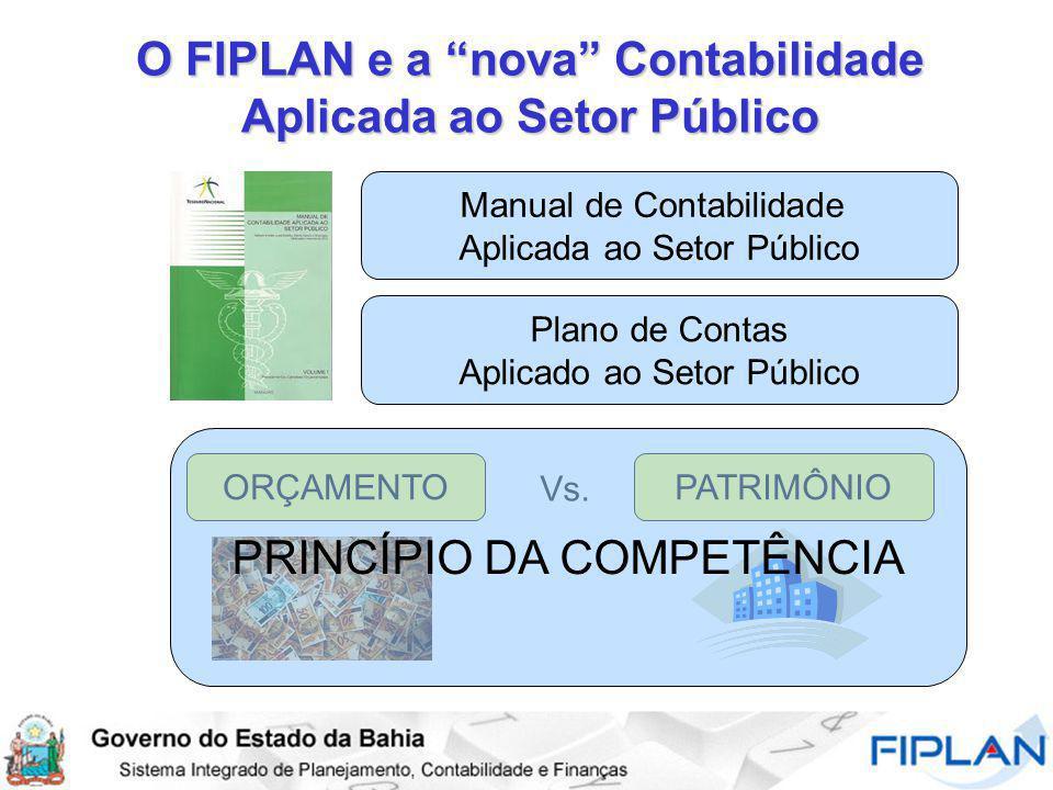 O FIPLAN e a nova Contabilidade Aplicada ao Setor Público