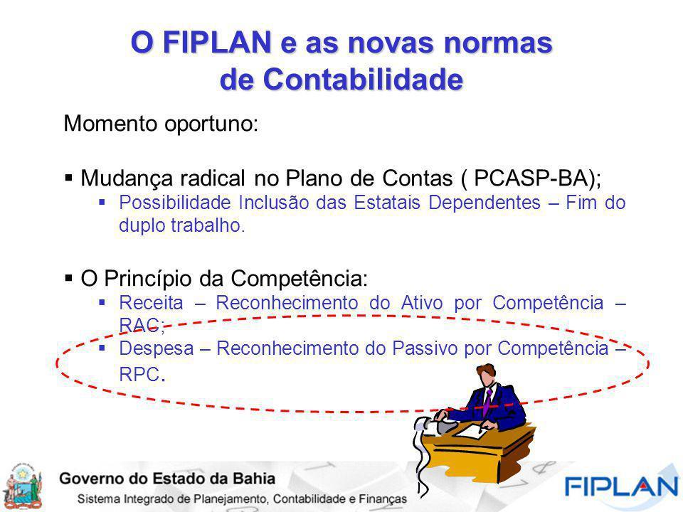 O FIPLAN e as novas normas de Contabilidade