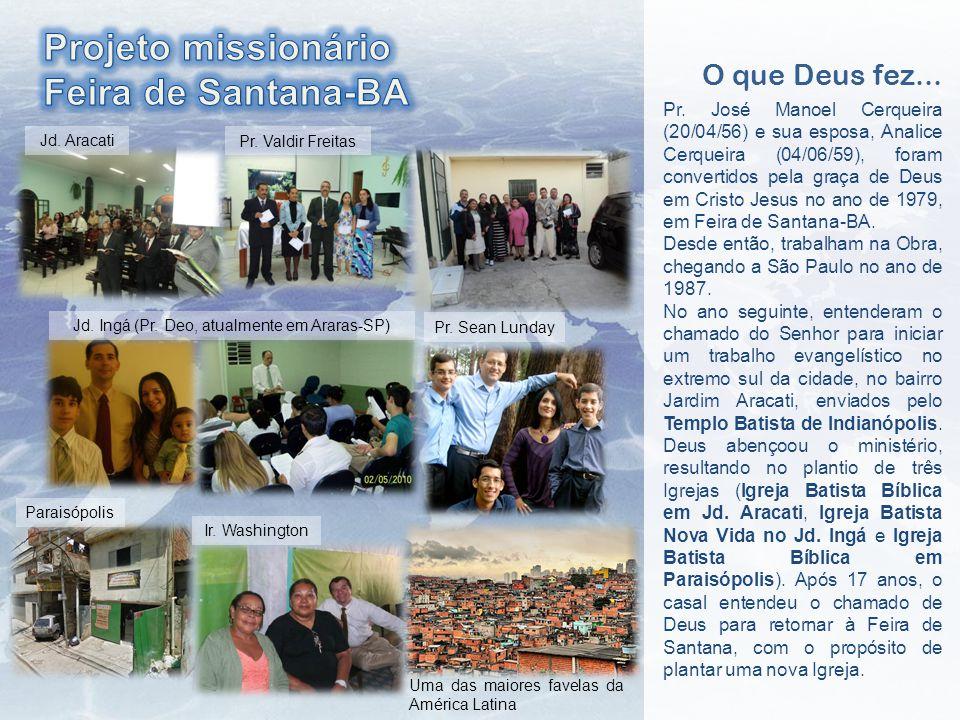 Jd. Ingá (Pr. Deo, atualmente em Araras-SP)