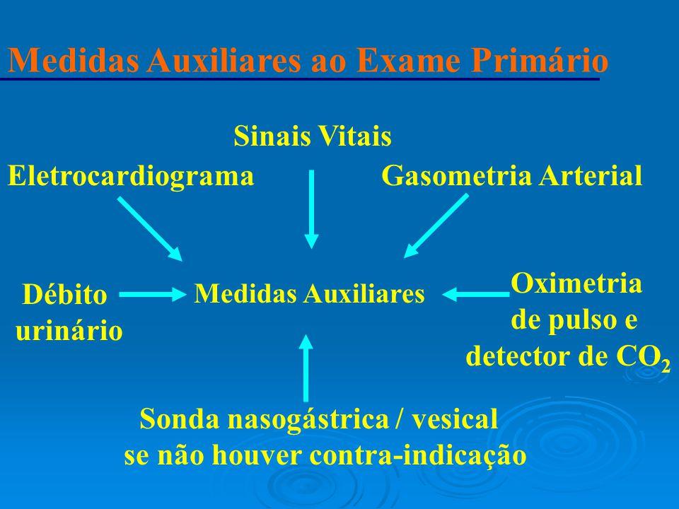 Medidas Auxiliares ao Exame Primário