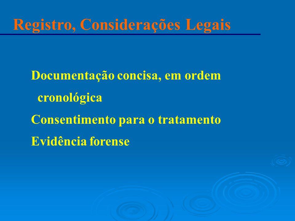Registro, Considerações Legais