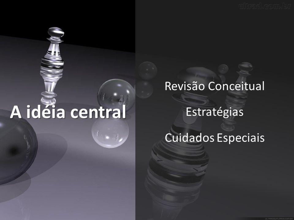 Revisão Conceitual Estratégias Cuidados Especiais