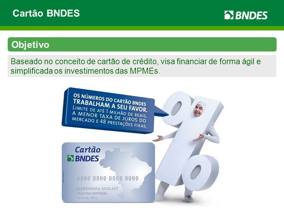 Cartão BNDES Objetivo.