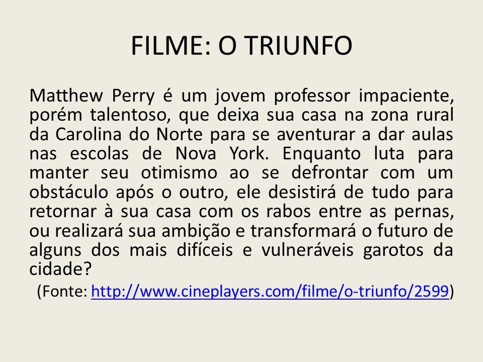 Filme: O Triunfo
