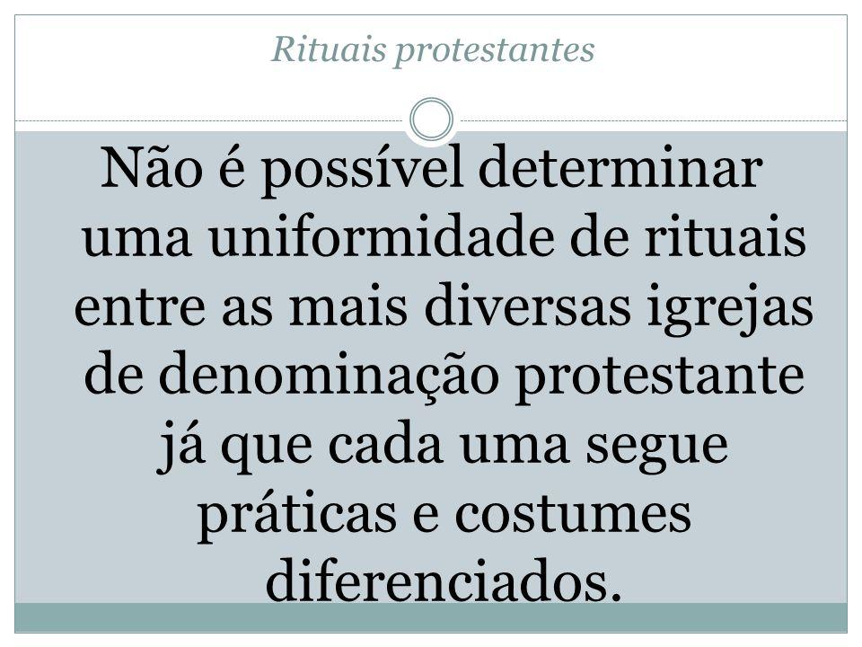 Rituais protestantes