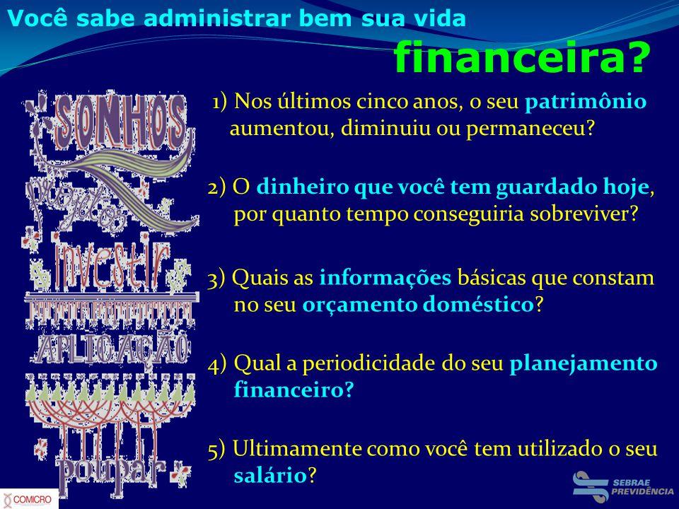 Você sabe administrar bem sua vida financeira