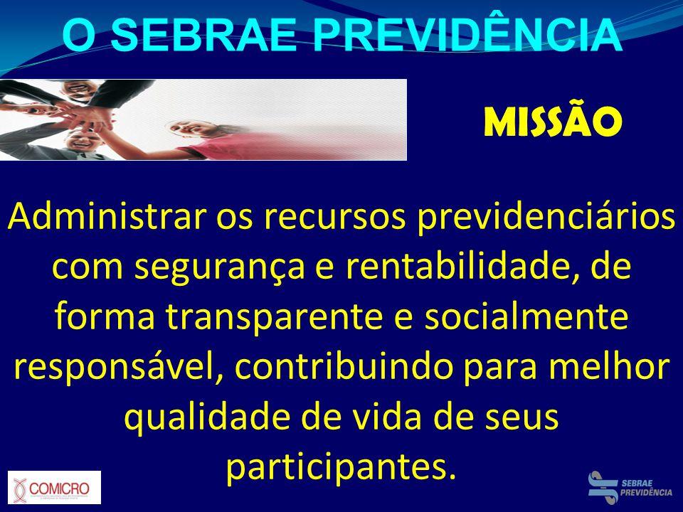 O SEBRAE PREVIDÊNCIA MISSÃO