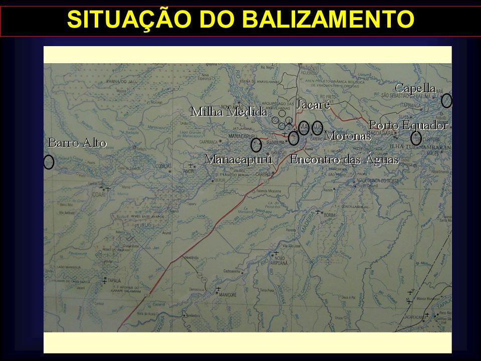 SITUAÇÃO DO BALIZAMENTO