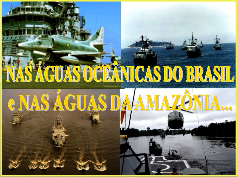 NAS ÁGUAS OCEÂNICAS DO BRASIL