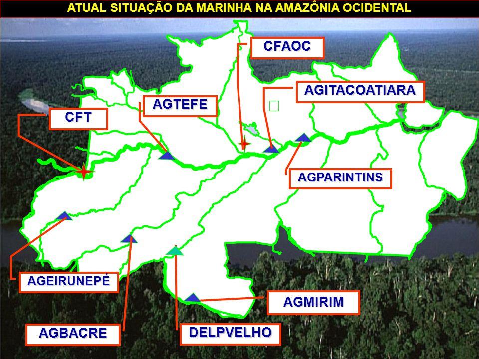 ATUAL SITUAÇÃO DA MARINHA NA AMAZÔNIA OCIDENTAL