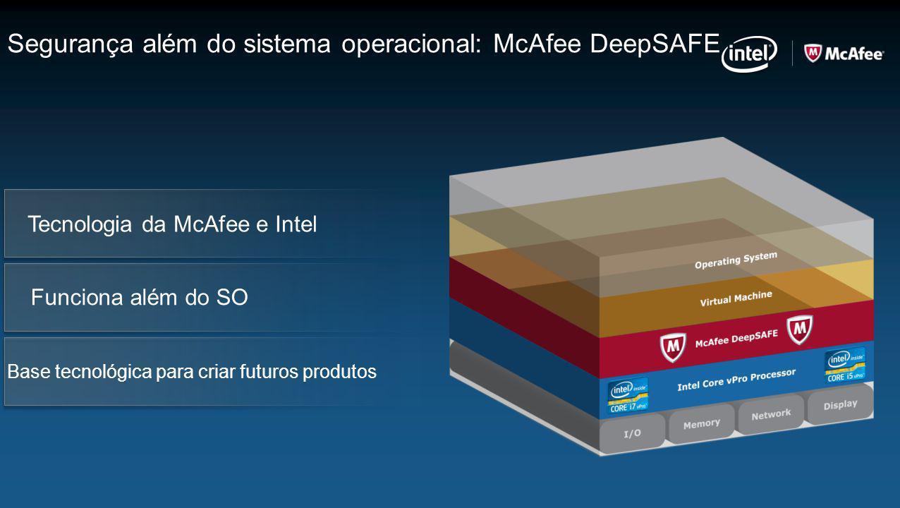 Segurança além do sistema operacional: McAfee DeepSAFE