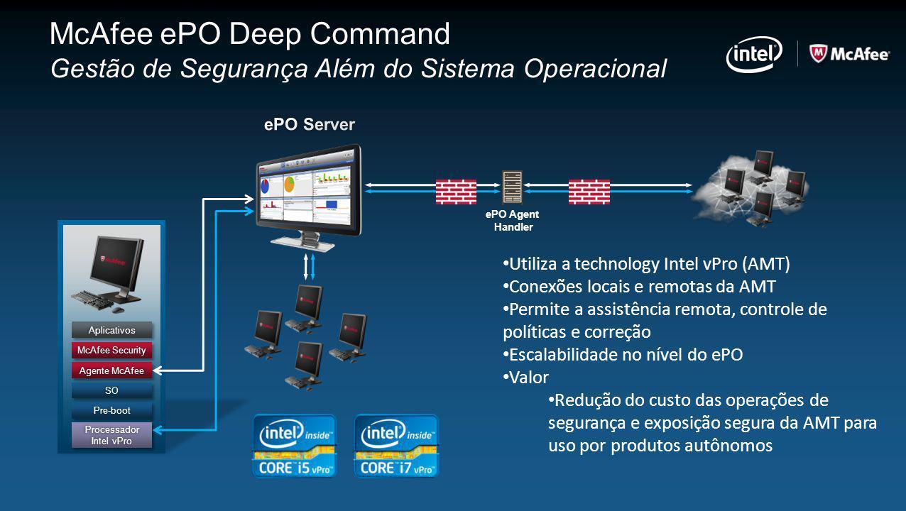 McAfee ePO Deep Command Gestão de Segurança Além do Sistema Operacional