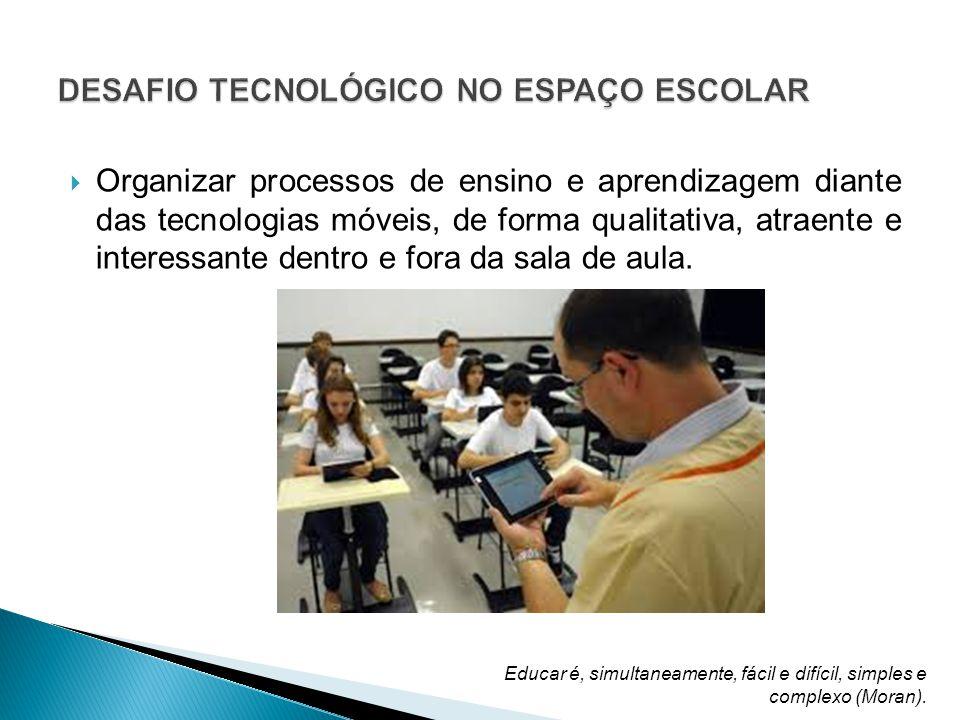 DESAFIO TECNOLÓGICO NO ESPAÇO ESCOLAR