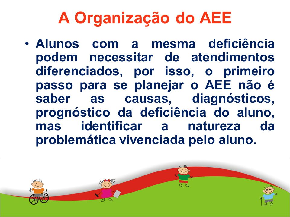 A Organização do AEE