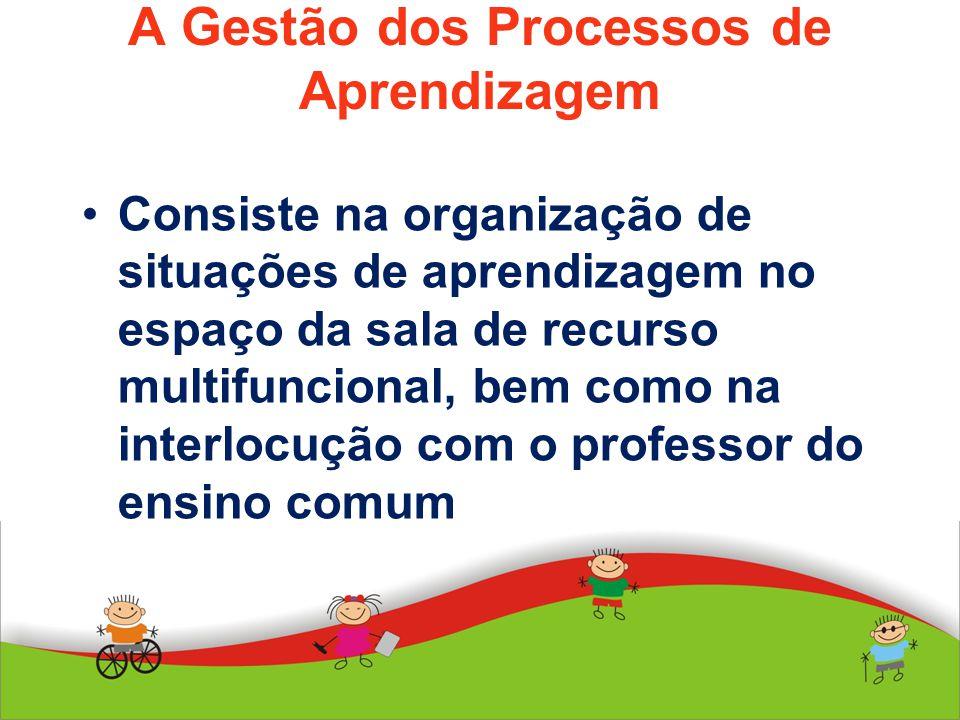 A Gestão dos Processos de Aprendizagem