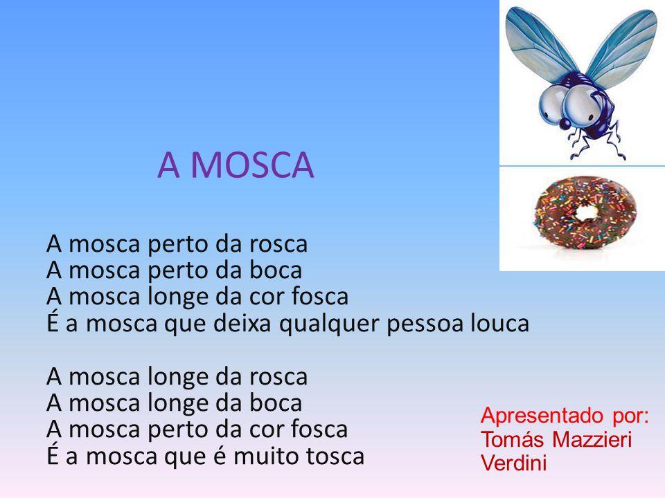 A MOSCA A mosca perto da rosca A mosca perto da boca